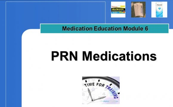 Medication Education
