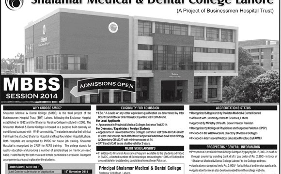 Shalamar Medical And Dental