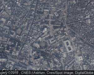 Satellite Image of King Edward Medical University, Lahore, Pakistan
