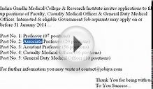 Indira Gandhi Medical College Recruitment 2014