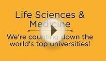 Top Universities for Medicine & Life Sciences 2014